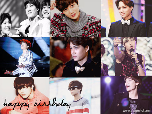 Happy Birthday Kai~♥