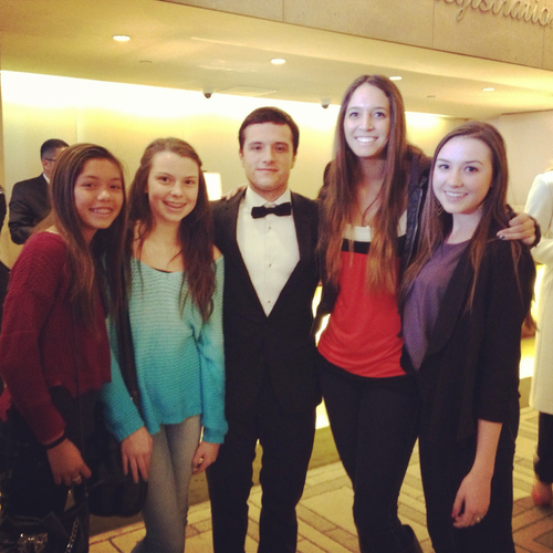 Josh at Golden Globes