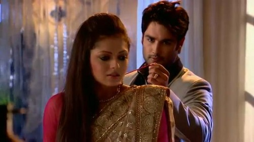 Madhubala and RK