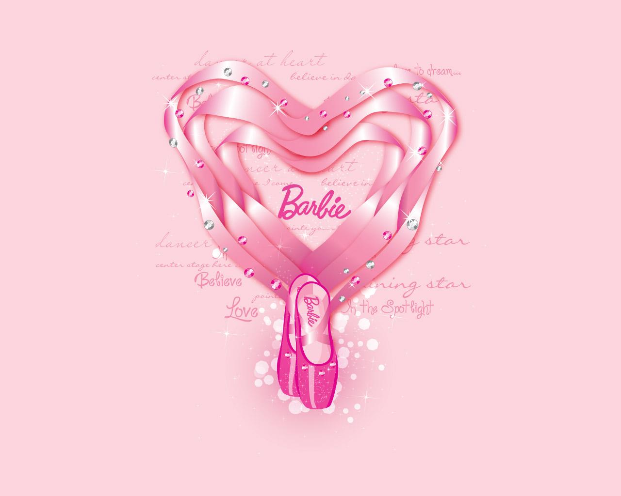 ポップでキュート Barbieのpc スマホ壁紙で女子力up Kutie