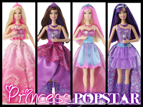 Princess and Popstar anak patung