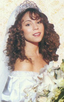 Rare Pic:Mariah Carey First Wedding Pic's 1993