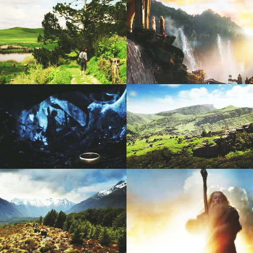 The Hobbit scenery