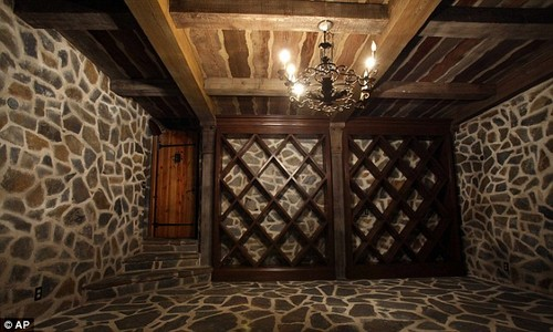 The Wine Cellar At Neverland Ranch