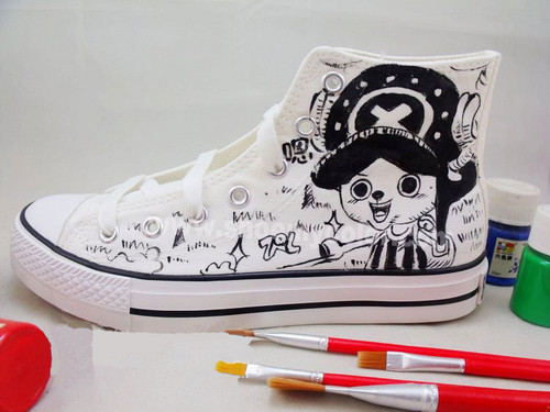 Tony Tony Chopper hand painted shoes