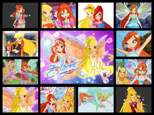 Winx Club Bloom and Stella