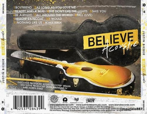 justin bieber,Believe Acoustic, , 2013