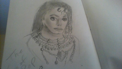 my mj drawing