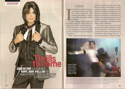 "An artikel Pertaining To Michael In The 2007 Issue Of ""JET"" Magazine"
