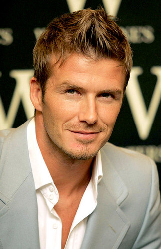 David Beckham Just beauty