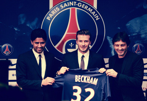 David Beckham in PSG