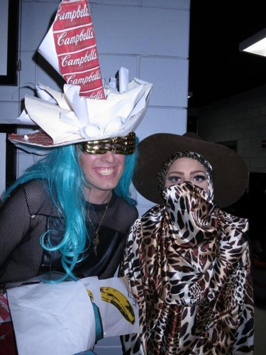 Gaga & fans backstage at the North American leg of the BTWBall