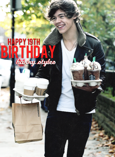 Happy Birthday Harry<3
