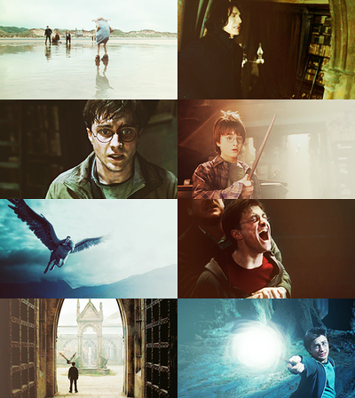 Harry Potter + my emotions & the space