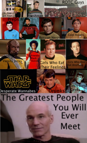 Mean Girls/Star Trek Crossover