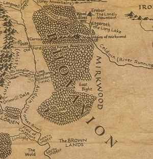 Mirkwood Map