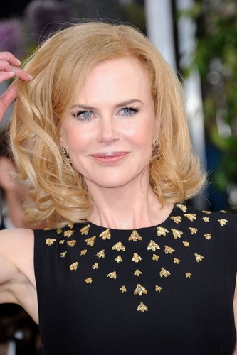 Nicole Kidman at The Golden Globes 2013