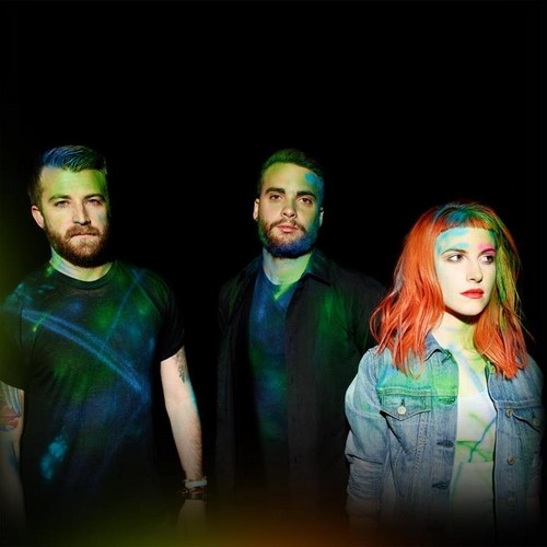 "Cover art of ""PARAMORE"", self-titled album"