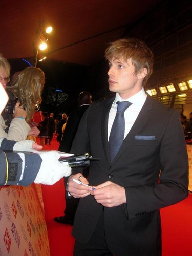 Snazzy Much! James, Bradley James!
