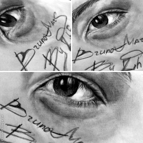 THE EYES OF BRUNO MARS