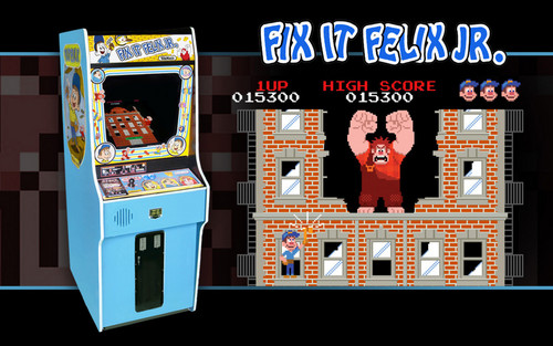 Fix-It Felix Jr. game console
