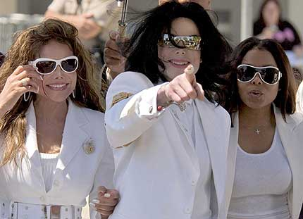 michael and his sisters