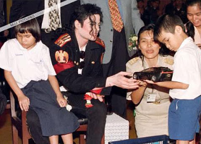 michael and kids