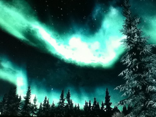 **•Beautiful Skyrim Tundra Lights!•**