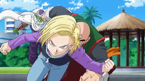 Android 18 In 'Battle Of Gods' DBZ Movie 2013