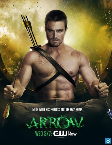Arrow - New February Sweeps Poster