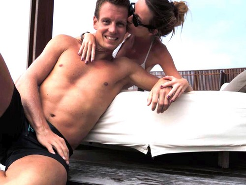 Berdych with Ester hot