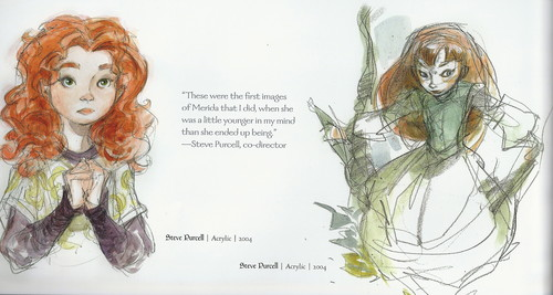 The Art Of Brave: Merida Concept Arts