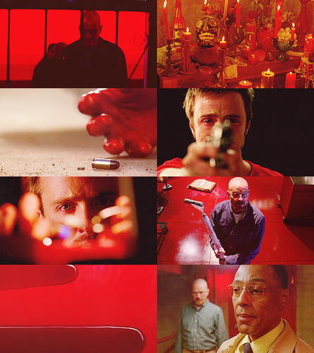 Breaking Bad + Red