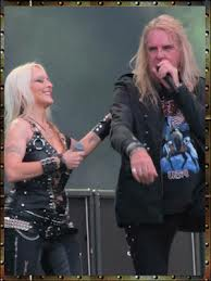 Doro with Biff Byford (Saxon)