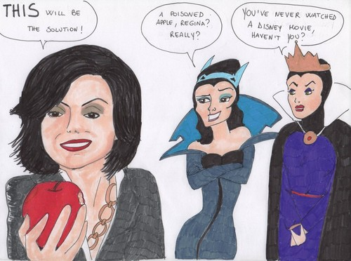 Evil Queen Amazing Fan Arts
