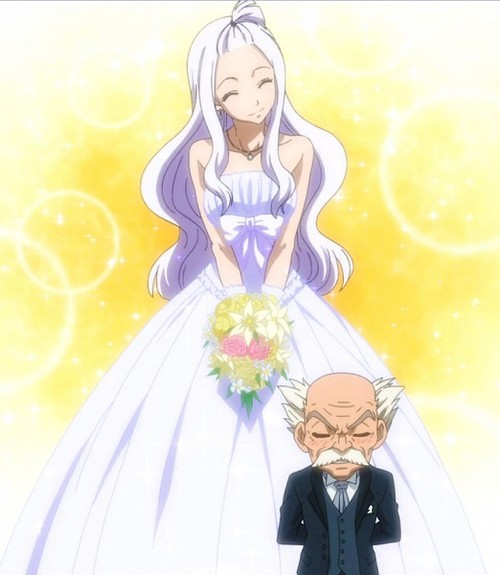 Mirajane And Makarov Fairy Tail Photo 33527240 Fanpop Page 2 Mirajane strauss, the sorcerer's weekly magazine model from fairy tail. mirajane and makarov fairy tail photo