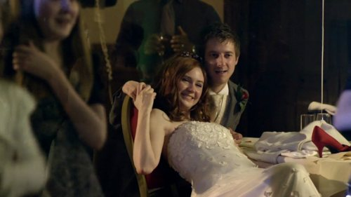 Rory, Amy, The Doctor and River Photos
