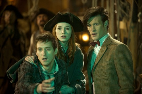 Rory, Amy and The Doctor fotografias
