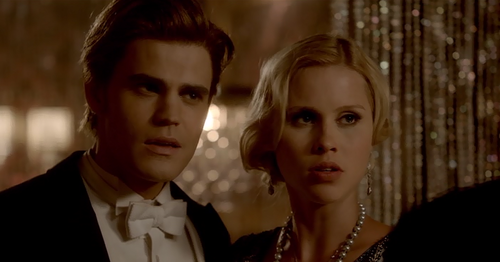 Stefan and Rebekah, Into the Wild