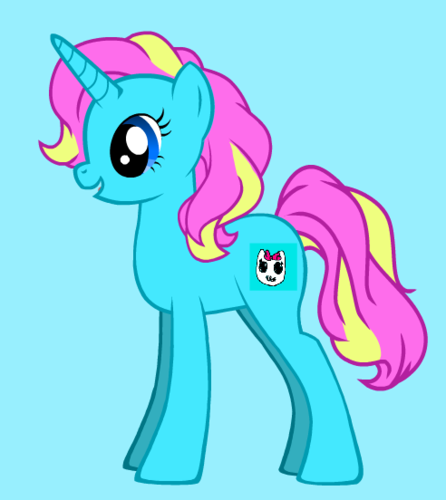 cutie as a adult pony