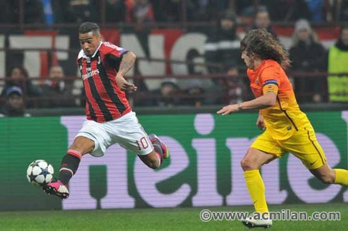 AC Milan VS FC Barcelona 2-0, UEFA Champions League 2012/13