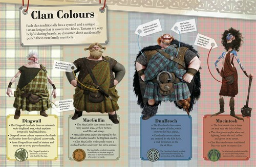 Brave: The Essential Guide: Clan Colours