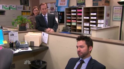 "Michael Weston in ""The Office"""