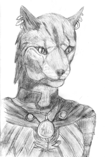 Nightingale Khajiit (Female)