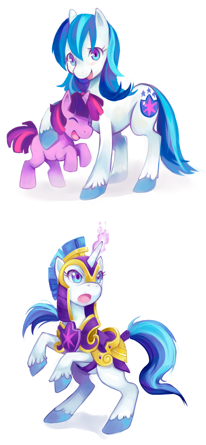 genderbend shining armor - My Little Pony Friendship is ...