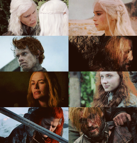 Game of Thrones + Hair Porn