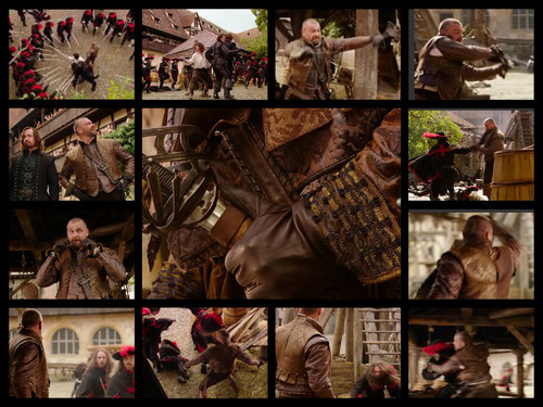 porthos fight
