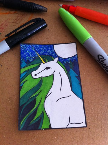 this is an ATC (artist trading card) i drew