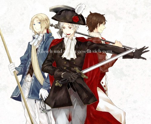 ~France, Spain and Prussia~