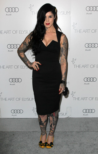 Art of Elysium's 6th Annual Black-tie Gala 'Heaven' 2013